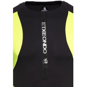 Etxeondo Trier TX S/S Jersey Men black/fluor